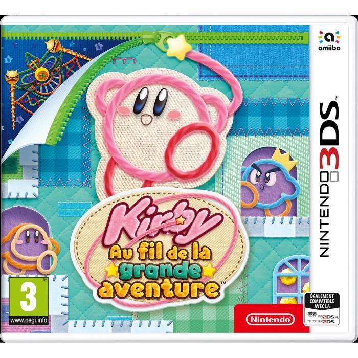 Kirby : Au fil de la grande aventure Jeu 3DS
