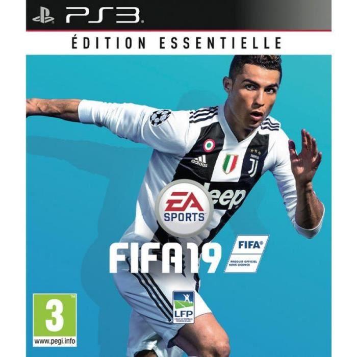 JEU PS3 FIFA 19 Édition Essentielle Jeu PS3