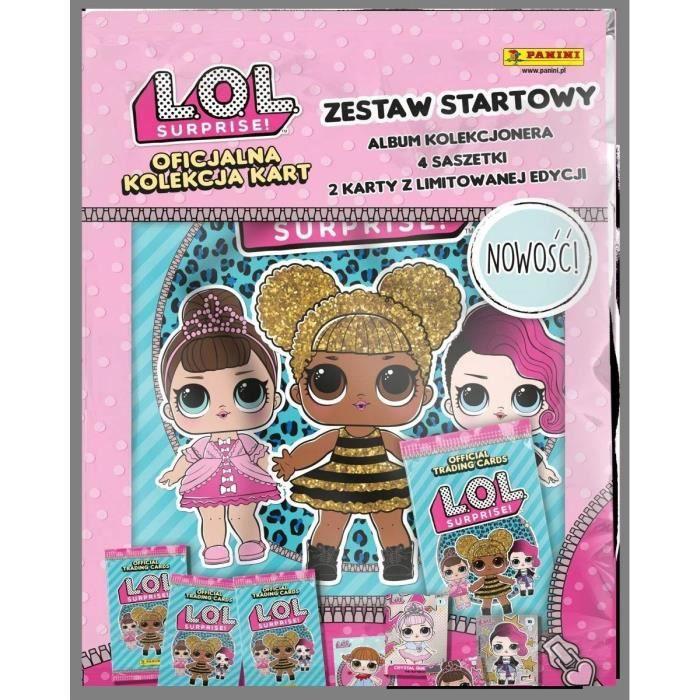 LOL - TRading cards Starter pack (1 classeur + 2 pochettes + 1 carte édition limitée)
