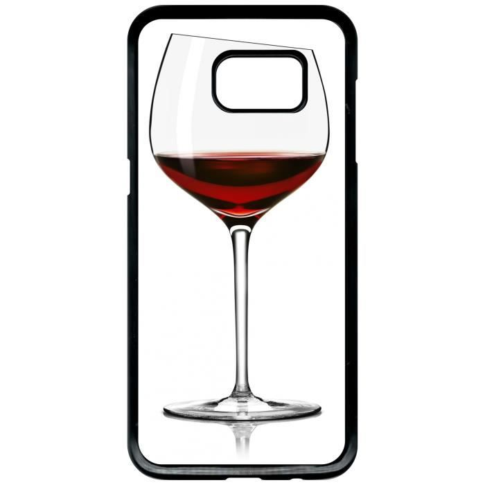 coque verre de vin galaxy s7 edge