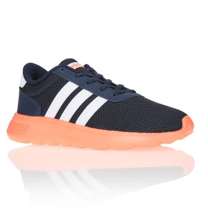 Chaussures Adidas Neo Lite Racer Pour Hommes Marine Blanc