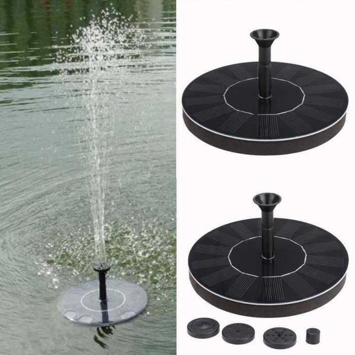 Pompe à eau Pompe de fontaine Ronde 1.4W Fountain Pump solaire ...