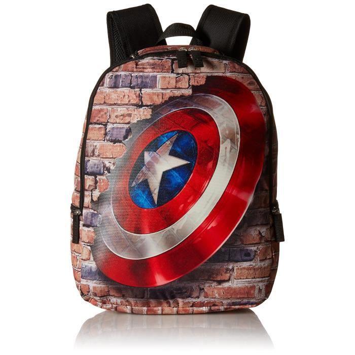 fe64df11f5 Marvel Avengers Bouclier Sac à dos EJQE4 - Achat / Vente sac à dos ...