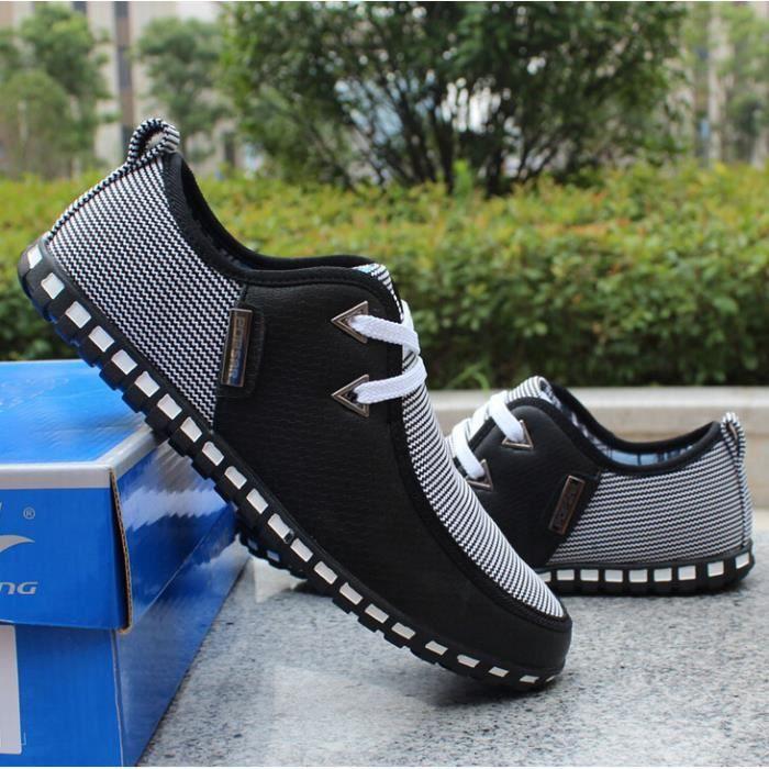 les marques de la mode homme baskets de toile de chaussures pour homme souliers quotidienne baskets printemps auto… 7Lts6SP