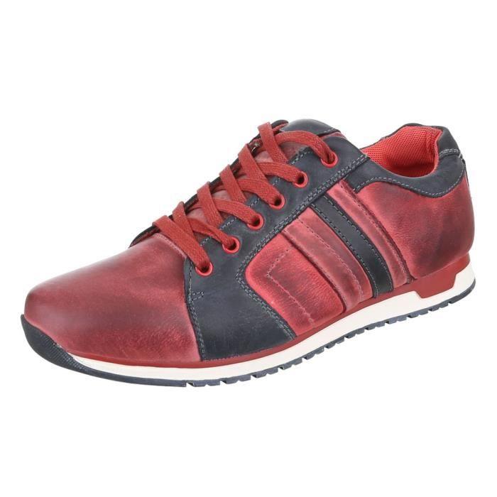 homme homme Sneaker chaussurecuir top Sneaker Low Low chaussurecuir pqPrwtpHxT