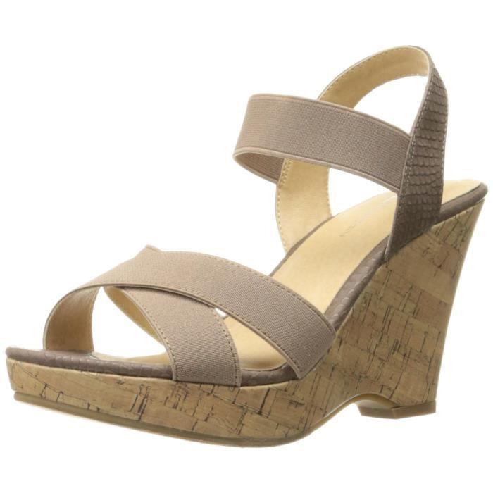 Les femmes Izzy Wedge Pump Sandal QS83Y Taille-40 1-2 M91NOycN