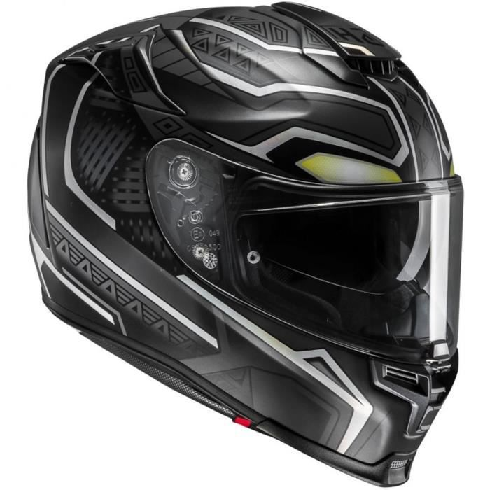 515dcacf24a4b HJC RPHA 70 BLACK PANTHER MC5SF - Achat   Vente casque moto scooter ...