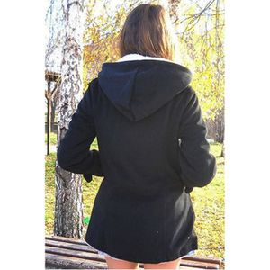 Manteau femme noir - Achat   Vente Manteau femme noir pas cher ... 610332ae2fe