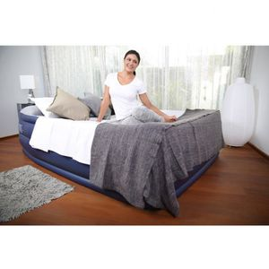 Bestway Matelas Gonflable Nightright 2 Personnes 203x152x56
