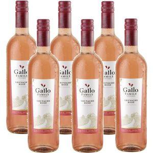 VIN ROSÉ Gallo Family Vineyards Grenache Rose Vin Rose 6 x