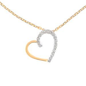 SAUTOIR ET COLLIER LE DIAMANTAIRE Collier Or Jaune 375° et Diamants F
