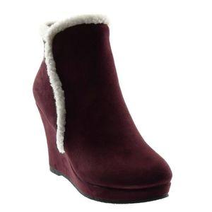 40130c23869464 BOTTINE Angkorly - Chaussure Mode bottine bottes de neige