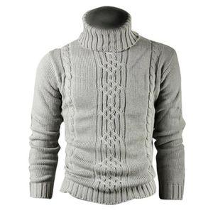5376b43e0695 Mode Fauve Impression Vraie Laine coton hommes manteau de laine pull cardigan  homme libre Gris Clair
