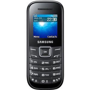 Téléphone portable Samsung E1200I Noir