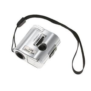 MICROSCOPE 60X mini microscope bijoutier loupe lentille éclai