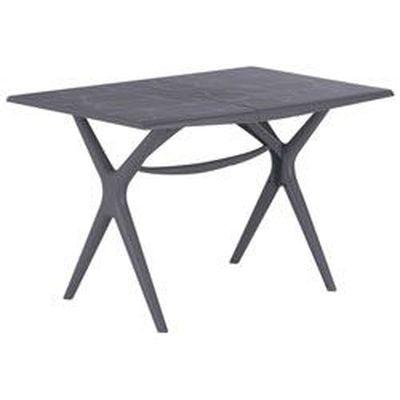 GROSFILLEX TABLE SIGMA PLIANTE 115X75 GRIS SOURIS - Achat / Vente ...