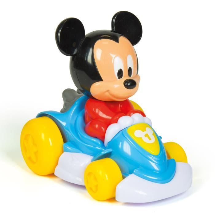 Le Kart Baby Mickey est un amusant véhicule électronique qui roule tout seul ! Dès 12 mois. Mixte - livré à l'unitéFIGURINE MINIATURE - PERSONNAGE MINIATURE