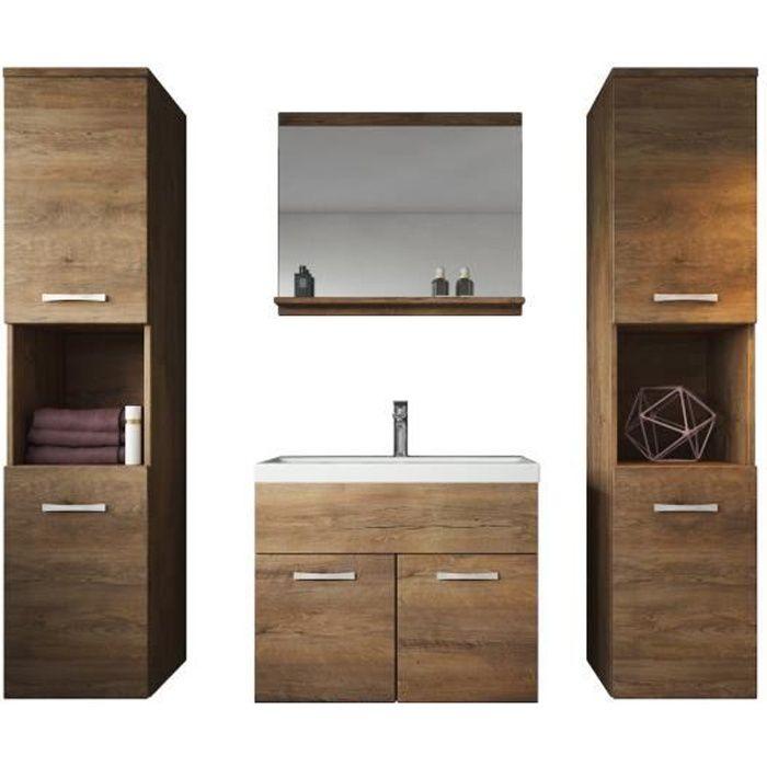 meuble de salle de bain montr al xl 60 cm lavabo lefkas. Black Bedroom Furniture Sets. Home Design Ideas
