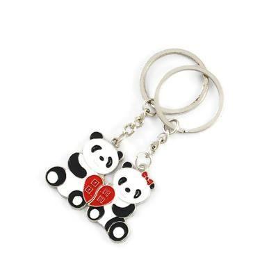 Porte clefs duo panda amoureux - Achat   Vente porte-clés ... 11214ff1adb