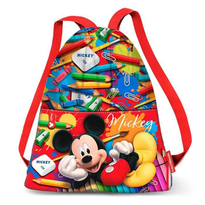 MICKEY ET SES AMIS - Sac à dos léger gym 42cm DELICIOUS CANDY MICKEY