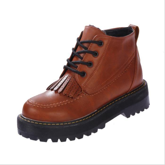 Chaussures hiver nouveau houppe Martin bottes c...