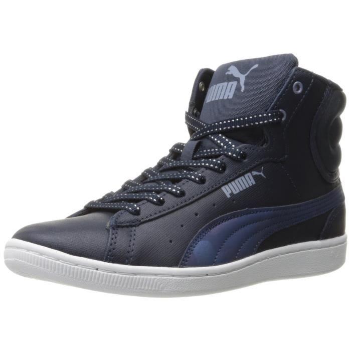 Puma Baskets féminins vikky mid sfoam scratch sneaker XC3J9