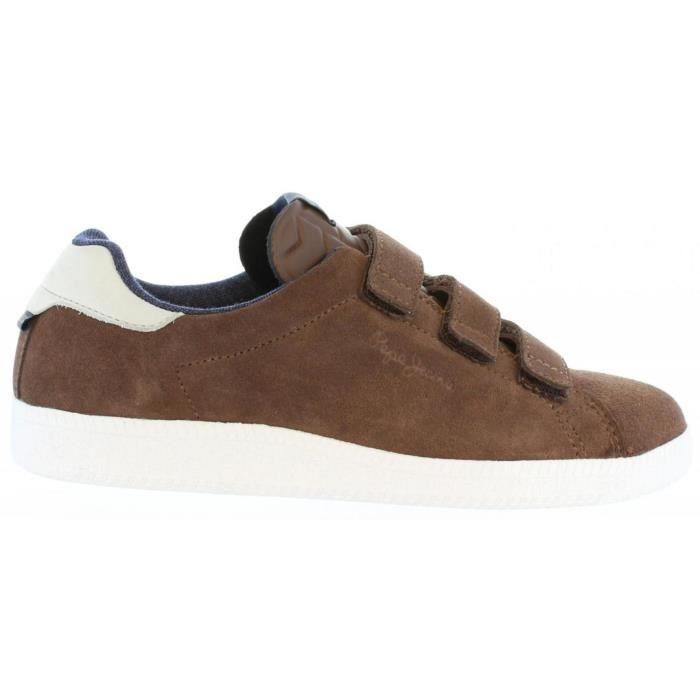 Chaussures de sport pour Garçon et Fille PEPE JEANS PBS30229 MURRAY VELCROS 869 TAN