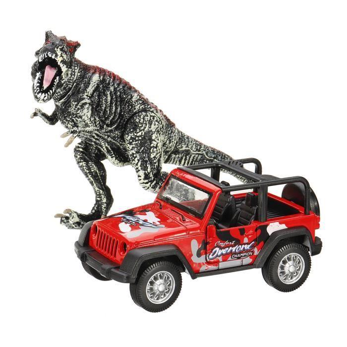 Neufu Jouet Dinosaure Tyrannosaure Rex Voiture En Alliage Modèle Léducationarbres Pour Enfant Cadeau