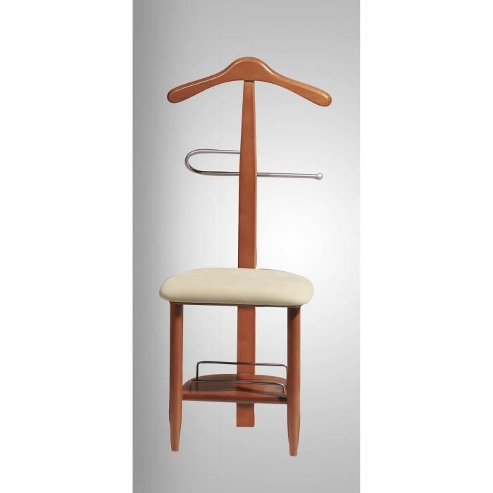 Valet de nuit sous forme de chaise en hêtre mas… - Achat / Vente ...