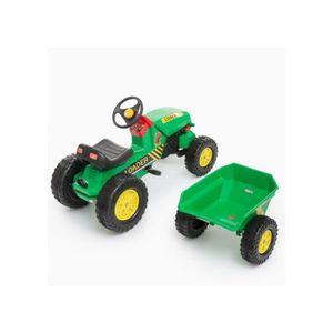 Tracteur enfant pour 6 ans achat vente jeux et jouets pas chers - Tracteur remorque enfant ...