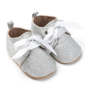 BOTTE Nouveau-né bébé fille garçons sequins chaussures léopard jusqu'à glisser dentelle bow cravate sneaker@RoseHM B2xCacSRS