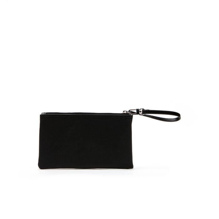 Pochette Zippée 000 Black Lacoste Cm Taille nf2036po 12 qpwd5C