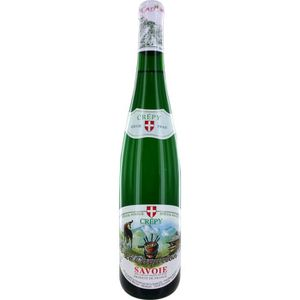 VIN BLANC Crepy Le Caquelon Vin de Savoie - Blanc -  75 cl