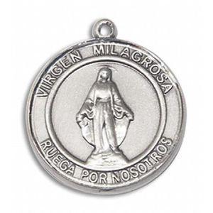SAUTOIR ET COLLIER Médaille Vierge Miraculeuse de la femme en argent fc2b55cb509
