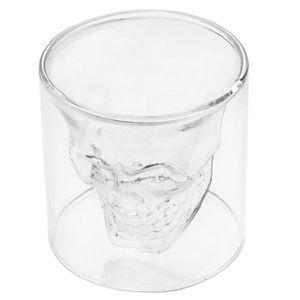 Vodka crystal head avec verre - Achat / Vente pas cher