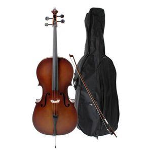 VIOLONCELLE Classic Cantabile Violoncelle étudiant 3/4 SET y c