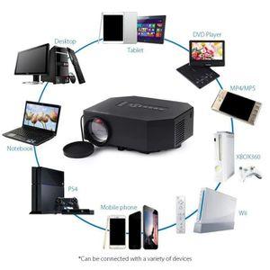 Vidéoprojecteur Mini LED Projecteur 150 Lux 640x480Pixels Portable