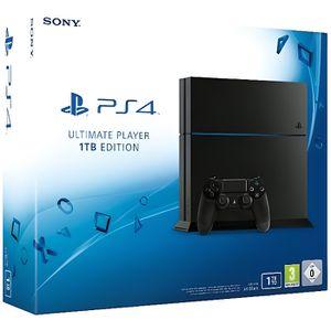 CONSOLE PS4 CONSONLE PS4  1TO  +  1 JEUX AU CHOIX