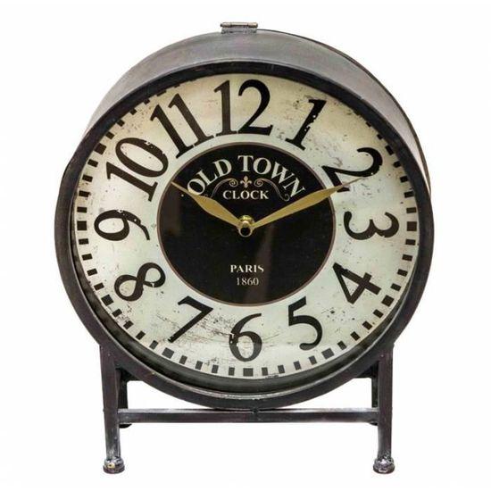 De Chiffres Comptoir Aiguilles Style Heures Ancienne Minutes Horloge cK3T1JlF
