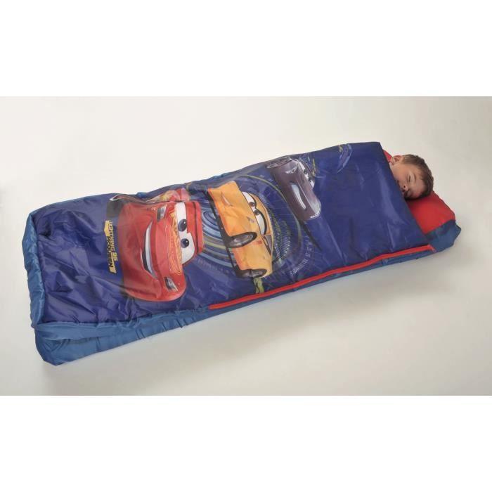 Fun House Disney Cars lit avec matelas gonflable et duvet pour enfant