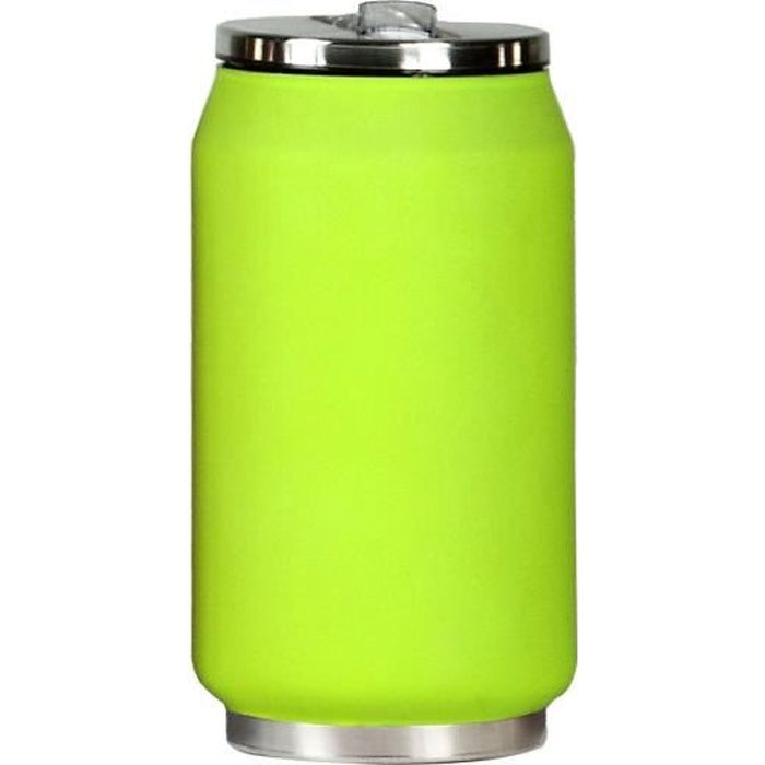YOKO DESIGN Canette Isotherme 280 ml - Vert mat