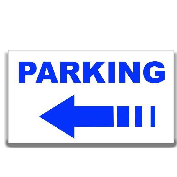 panneau signal tique parking fl che gauche achat vente panneau ext rieur panneau. Black Bedroom Furniture Sets. Home Design Ideas