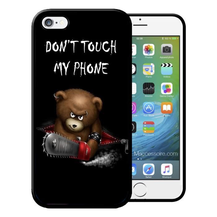 coque iphone 5 dont touch my phone