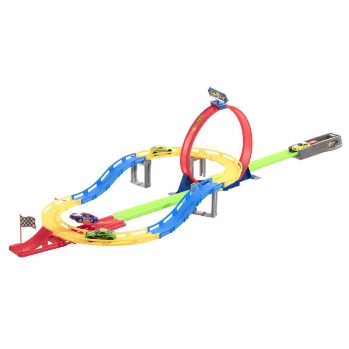 Avec Et Loopings Course Voitures Multicolore Circuit 4 2 qSpMVUz