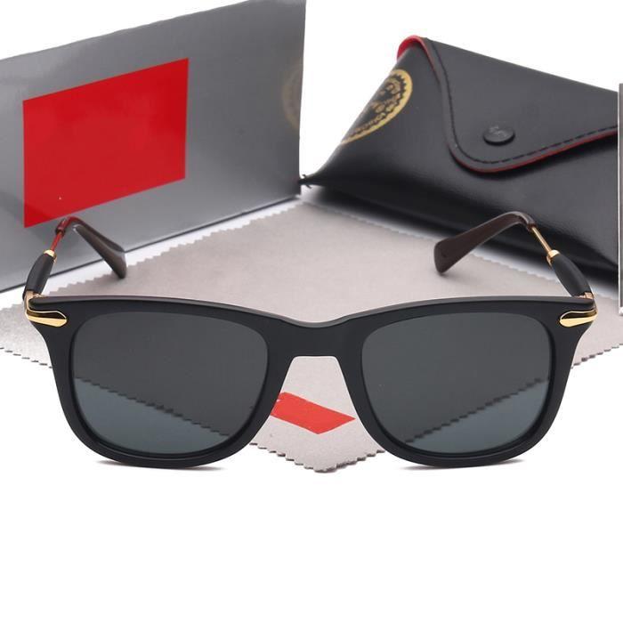 rayons lunettes de Soleil rétro de luxe nouvelle mode chaude brillant haute  qualité marque 0642b97d36aa