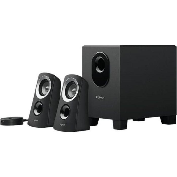 ENCEINTES ORDINATEUR Logitech Z-313 Système de haut-parleur pour PC Can