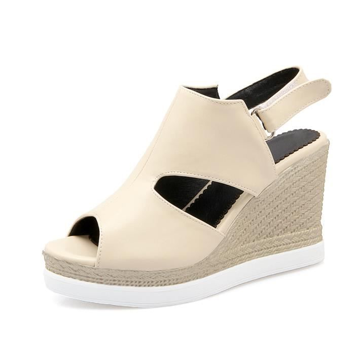 SIMPLE FLAVOR Femme Mode Confortable Sandales à...