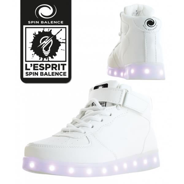 Spinbalence Chaussure à LED M01 - Pointure 34
