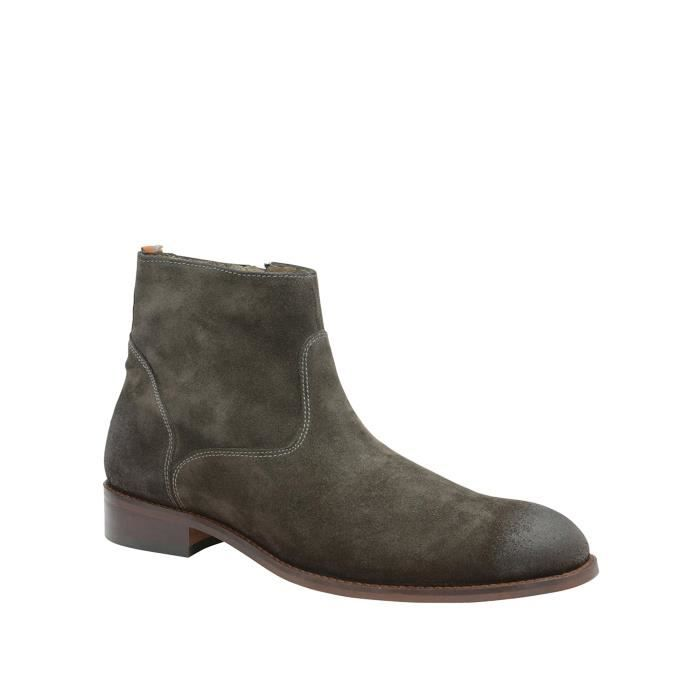 Frank Wright Bottes Chelsea gris Homme MFW444GS8