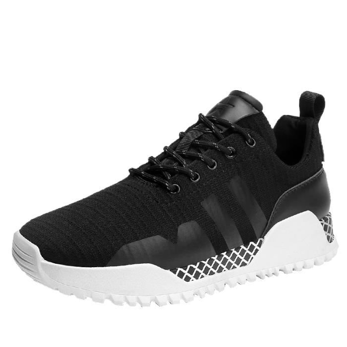 Homme Sport Baskets Sneqkers Mode Chaussures Pas Running Cher Prix DH2IWE9